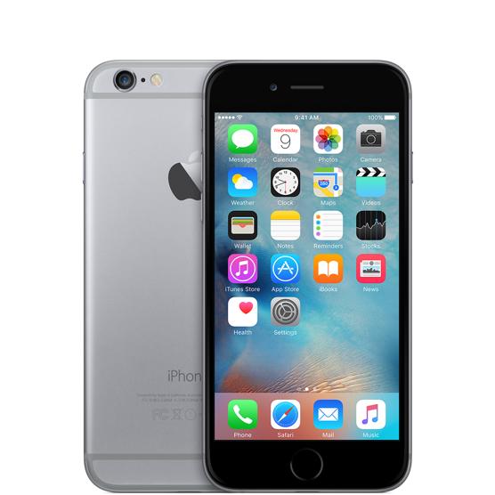 Смартфон AppleiPhone 6 16 GB Space Gray