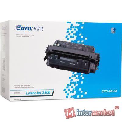 Картридж, Europrint, EPC-2610A, Для принтеров HP LaserJet 2300, 6000 страниц.