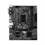 Материнская плата MSI H310M PRO-M2 PLUS LGA1151 iH310 2xDDR4 4xSATA3 1xM.2 VGA DVI HDMI mATX