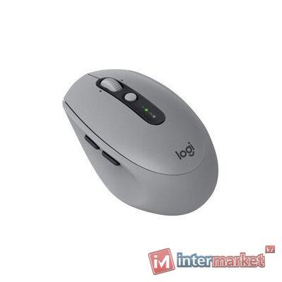 Мышь беспроводная Logitech M590 Multi-Device Silent-MID GREY TONAL (серая, Bluetooth, 2.4 GHz/USB-ресивер (Logitech Unifying®), 1000dpi, 1 батарея типа AA)