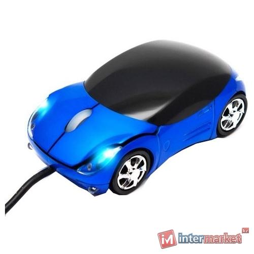 Мышь X-Game CM-03OUBl в виде машины, (Синий)
