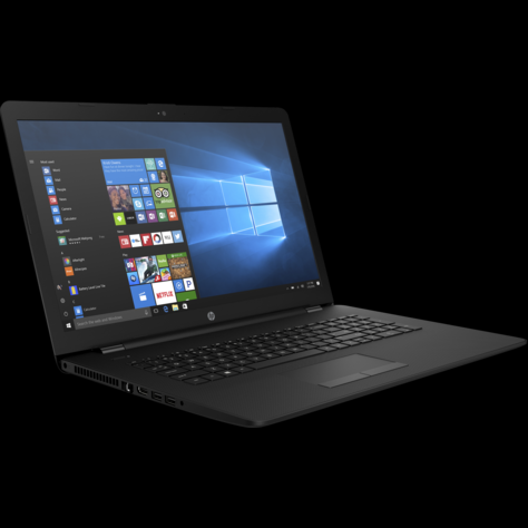 Ноутбук HP 17-bs041ur/CORE I5-7200U/17.3 HD+/8GB/1TB/AMD RADEON 520 2GB/DVD/Windows 10/JET BLACK