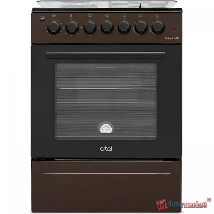 Плита газовая электрическая Artel DOLCE 21-EX, коричневый
