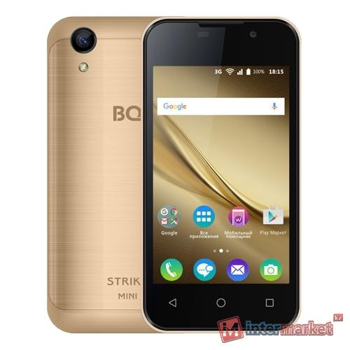 Смартфон BQ BQ-4072 Strike Mini Gold