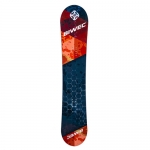 Сноуборд Net, красно черный, ростовка 150