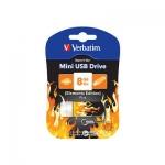 USB Флеш 8GB 2.0 Verbatim 098158 огонь