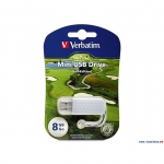 USB Флеш 8GB 2.0 Verbatim 098510 гольф