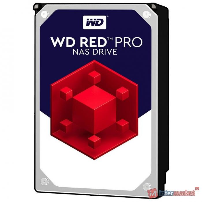 Жесткий диск для NAS систем HDD 4Tb Western Digital Red PRO SATA 6Gb/s 3,5